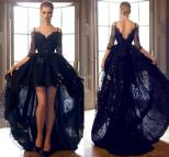 Black Lace Prom Dresses