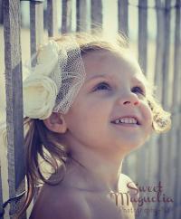 Ivory Bridal Flower Hair Clip Duo, Wedding Hair ...
