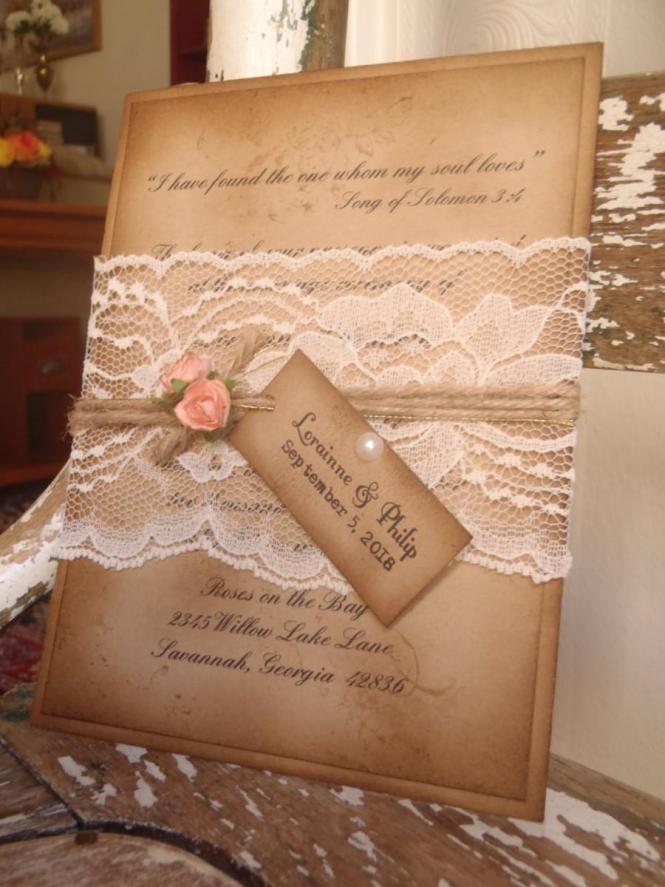 Wedding Invitation Inspiration Ceremony Program Weddings By Etsy Romantic Vintage Modern