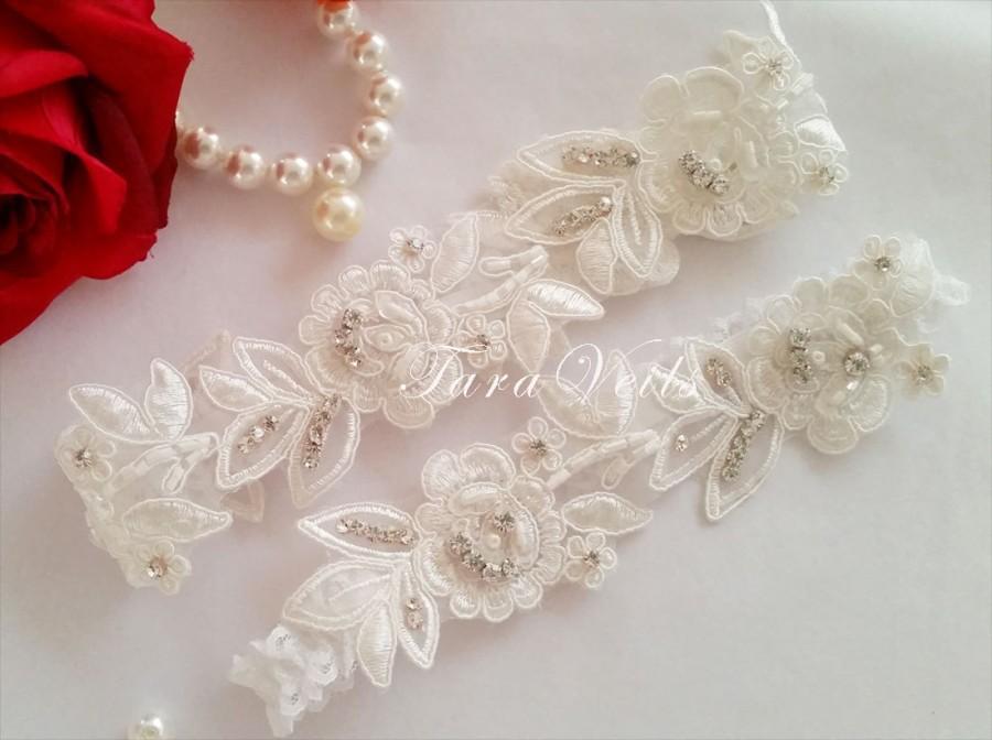 Wedding  Bridal  Rhinestone Garter Wedding Garters