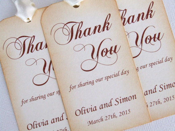 personalized wedding favor gift