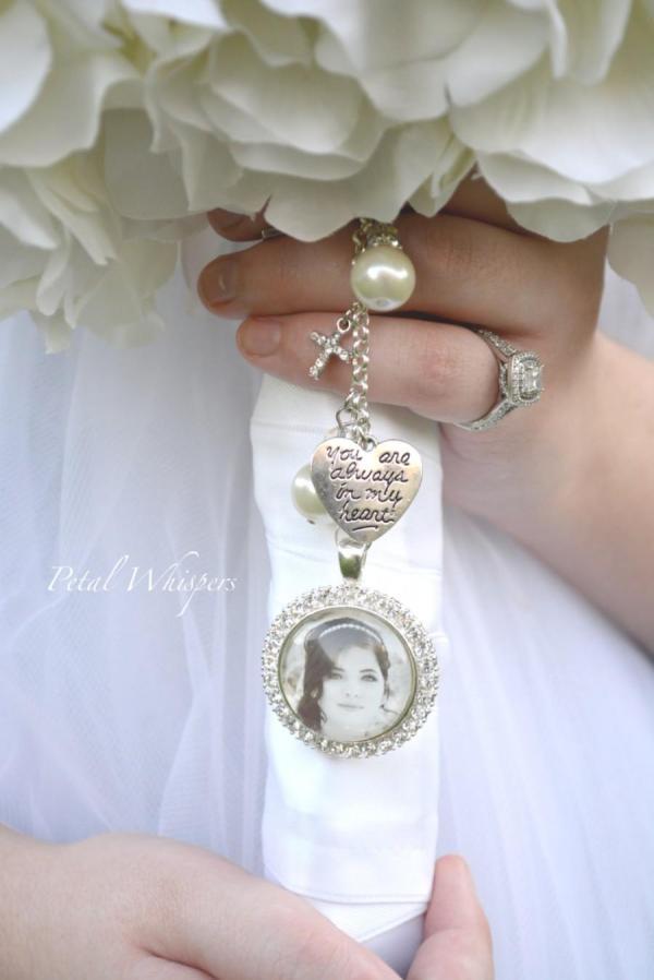 Bridal Bouquet Charm - Wedding Memorial