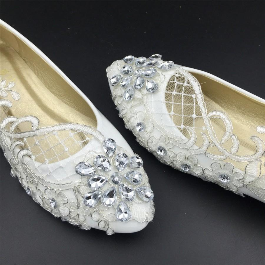 Wedding FlatsBridal Ballet ShoesComfortable FlatsLace