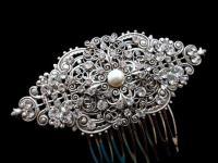Bridal Hair Comb, Wedding Headpiece, Vintage Hair Clip ...