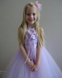 Flower Girl Dress, Little Girls Formal Dresses, Blush Pink ...