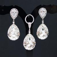 Bridal Jewelry Set Swarovski Crystal Jewelry Set Wedding ...