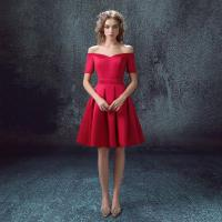 Red Short Dress/Prom Dress/ Wedding Dress/ Evening Dress ...