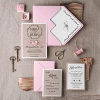 Wedding Invitation Suite (20), Wedding Invitation Rustic