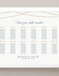 Printable seating chart poster template also weddbook rh