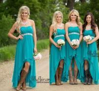 Teal Bridesmaid Dresses Beach Wedding - Wedding Dresses Asian