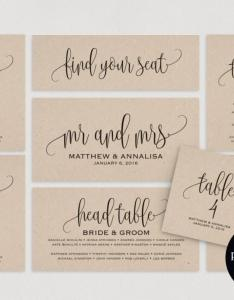 Wedding seating chart template plan cards table pdf instant download also rh weddbook