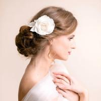 Rose Hair Clip - Bridal Hair Clip - Flower For Hair ...