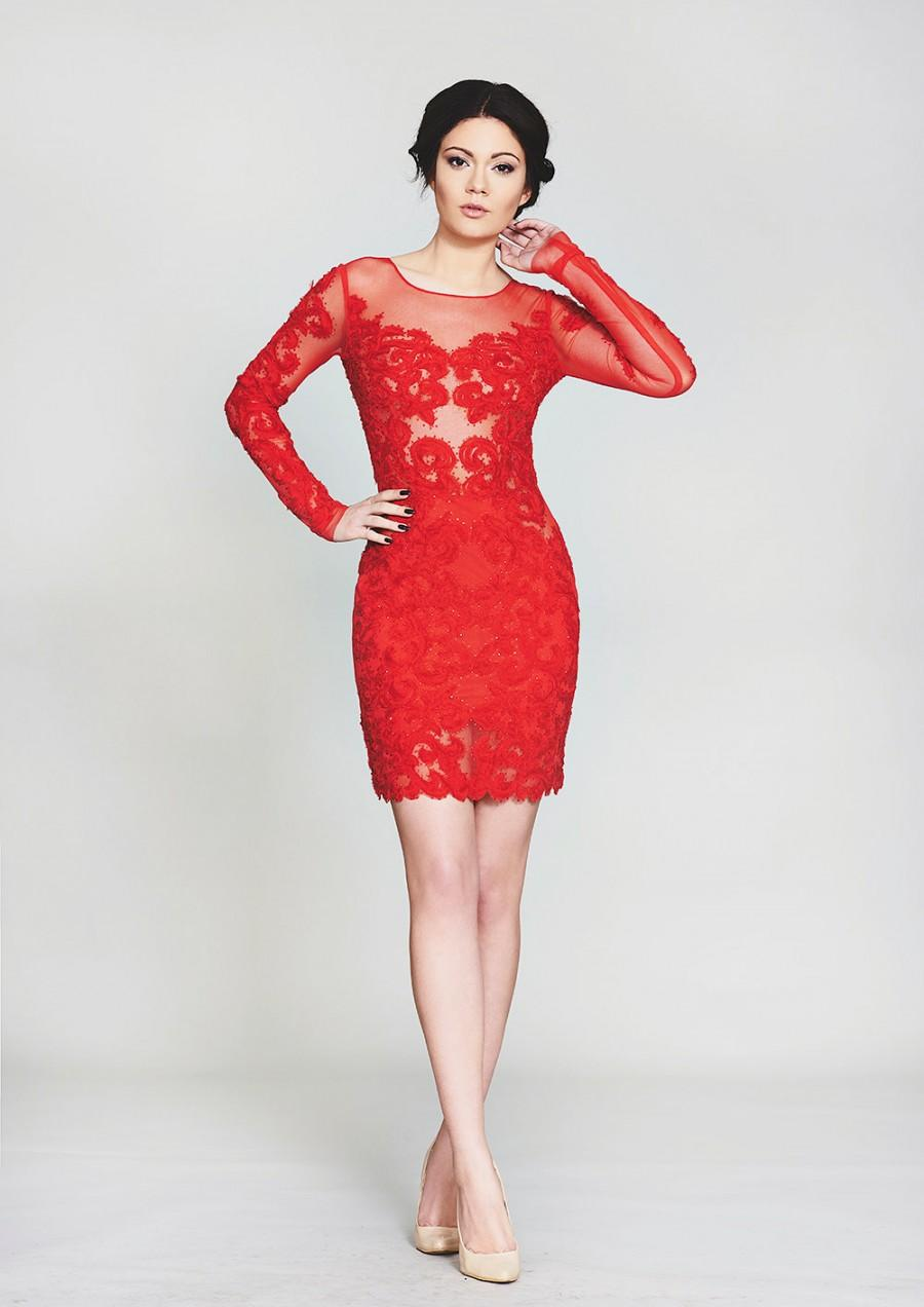 Red Cocktail Prom Dresses