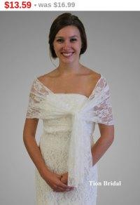 Easter Sale Bridal Wrap, Bridal Stole, Ivory Lace Bridal ...