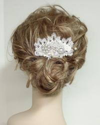 Wedding Hair Accessories- Pearl And Rhinestone Bridal Comb ...
