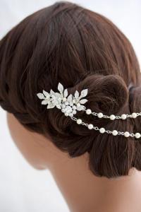 Wedding Hair Chain Wedding Headpiece Bridal Hair Chain ...