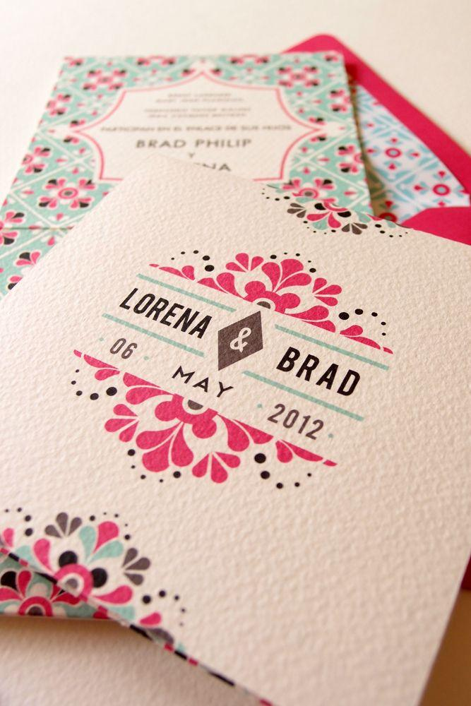 Mexican Wedding Invitations  Lizzy B Loves 2494854  Weddbook