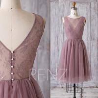 Dusty Rose Bridesmaid Dresses - Junoir Bridesmaid Dresses