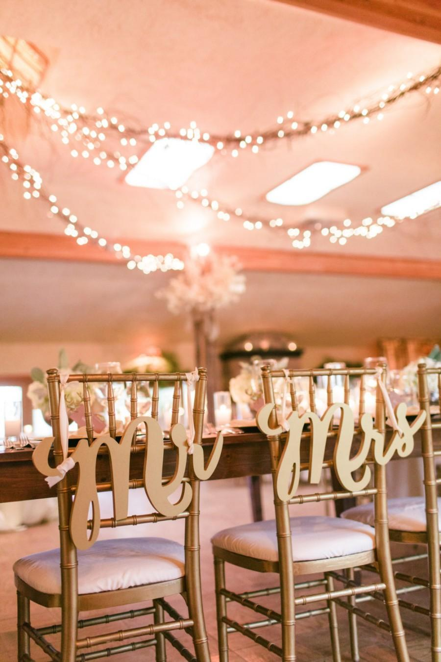 hanging chair decor retro rocking uk gold signs mr mrs for wedding chairs bride and groom 3 piece set item mck200