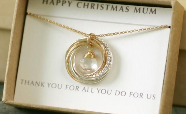 Gift For Mother Of The Groom Necklace 6th Anniversary