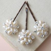 Flora Pearl Hair Pins Wedding Hair Accessories Bridal ...