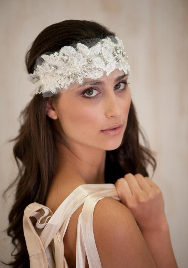 bridal hair accessories, bridal headband , bridal tiara