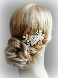 Gold Hair Fascinators For Weddings | Midway Media