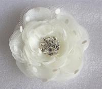 Bridal Hair Flower/ Ivory Wedding Hair Accessories