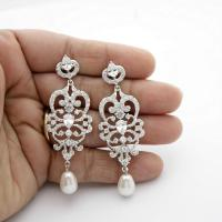 Wedding Chandelier Earrings Vintage