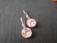 Pale Pink Rosaline Swarovski Crystal Earrings/ Bridesmaid ...