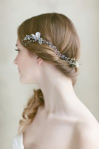 Bridal Hair Piece ,Wedding Pearl Headpiece , Wedding Hair ...