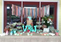 Mint And Coral Wedding Garland Photo Backdrop Nursery ...