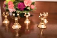 Decor - Set Of 12 Gold Table Number Holders #2527206 ...
