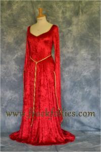 Elvish Dress,Medieval Gown, Fantasy Dress, Pagan Dress ...