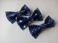 Bow Ties For Boyfriend Three Navy Men's Bowties Nautical ...
