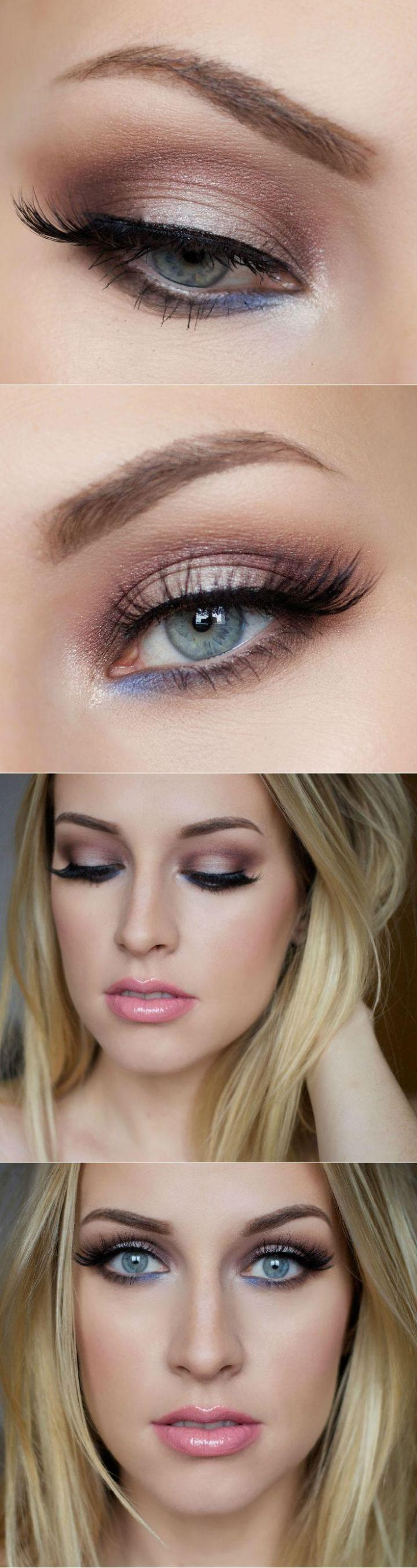 eye makeup for fair skin and blue eyes | amatmakeup.co