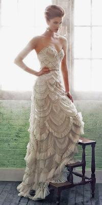 30 Totally Unique Fashion Forward Wedding Dresses #2536928 ...