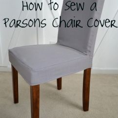 How To Make Easy Chair Covers For Wedding Bentwood Bistro Chairs Sale Decor Sew A Parsons Cover 2541714 Weddbook