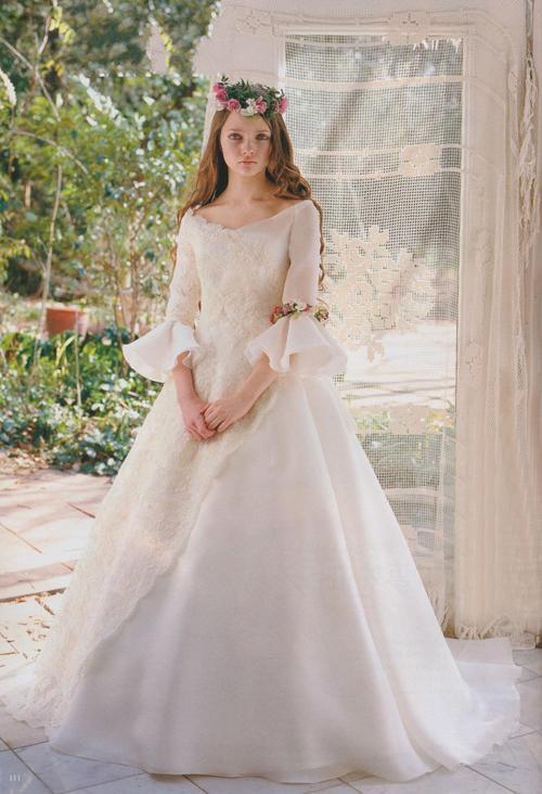 Princess Fair Tale Victorian Style Wedding Dress 2542536  Weddbook
