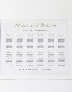 Wedding seating chart template plan rustic poster editable table card edit in microsoft word also rh weddbook