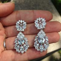 Chandelier Earrings For Weddings