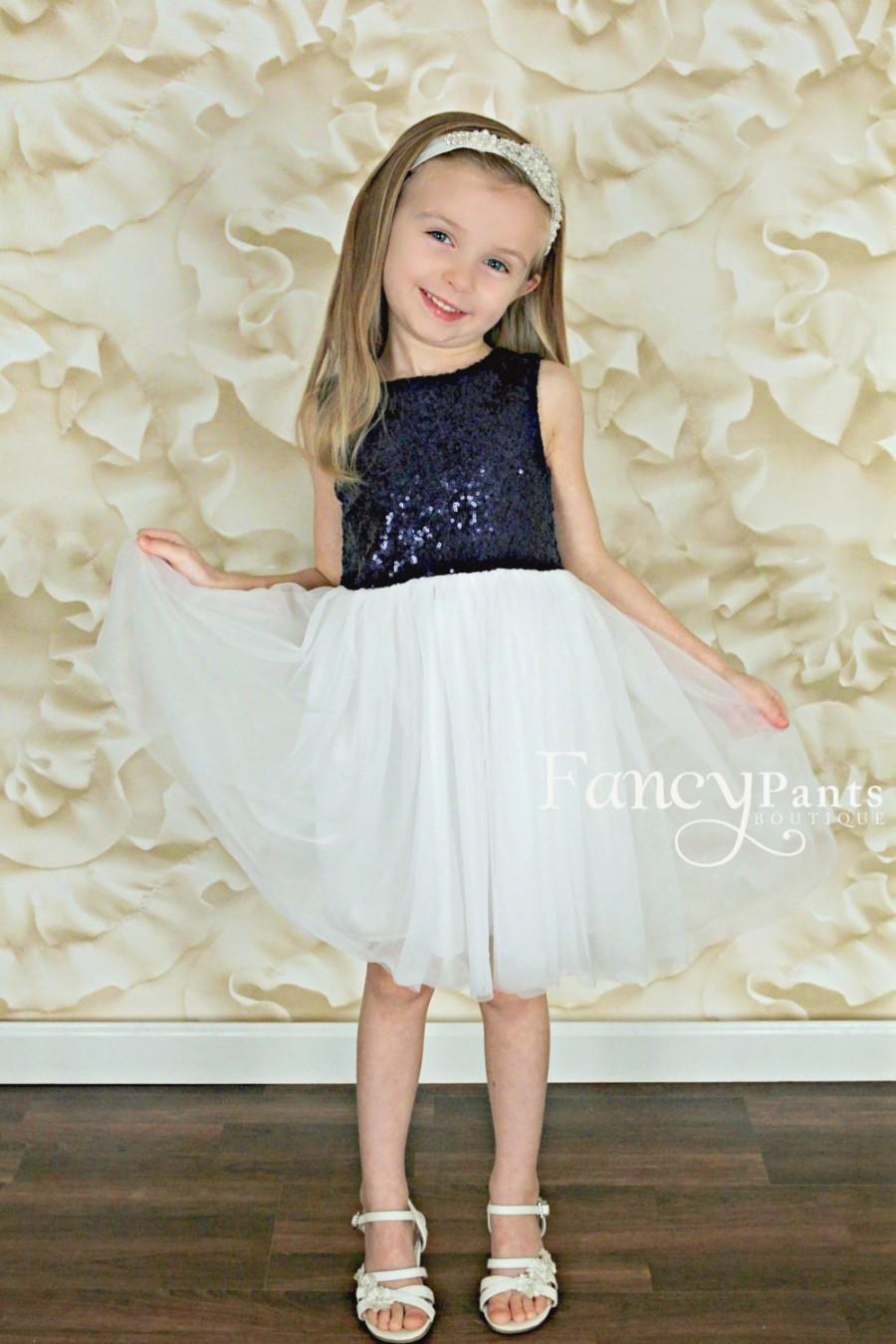 c5a252c1910 Flower Girl Dresses White And Navy Blue - Data Dynamic AG