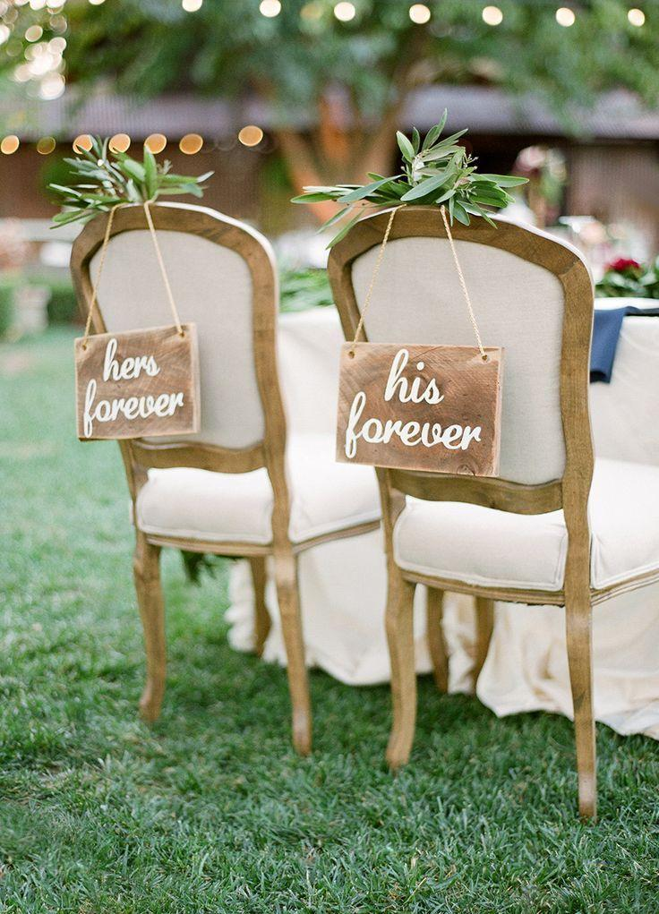 wedding bride and groom chairs best computer chair 30 awesome sign decor ideas for