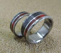 Titanium Rings, Meteorite Rings, Wedding Rings, Wedding