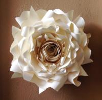 Giant Paper Wall Flower, Wall Decor, Wedding Decor, Party ...