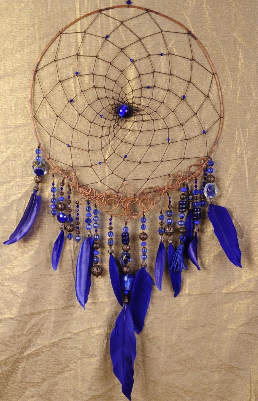 Dream Catcher Royal Blue Dreamcatcher Copper Dream atcher