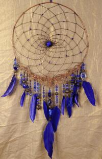 Dream Catcher Royal Blue Dreamcatcher Copper Dream atcher ...