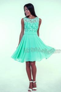 Chiffon Bridesmaid Dresses Short Green - Wedding Dresses Asian