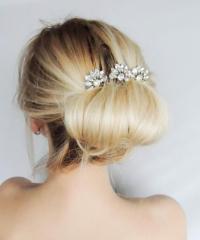 Swarovski Crystal Hair Comb/ Hair Pins/ Bridal Hair ...