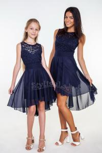 Short Blue Chiffon Bridesmaid Dresses | www.pixshark.com ...